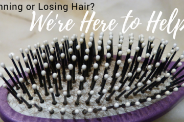 Are you Thinning or Losing Hair?