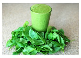 Spinach Smoothie - Juicing is Good For Your Body and Hair