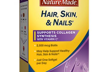 Nature Made Hair Skin Nails USP Certified